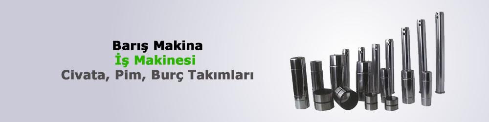 Volvo İş Makinesi Pimler Sekmanlar Tamiri Yedek Parça Fiyatı Adana