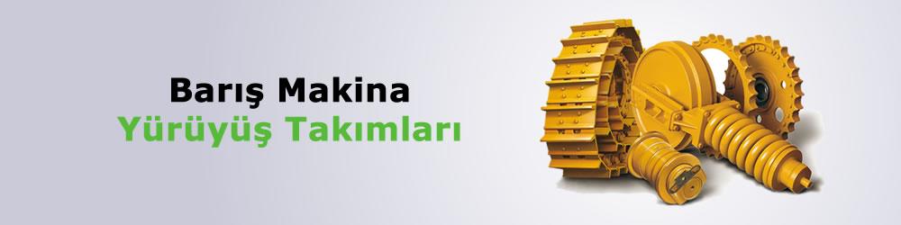 Volvo İş Makinesi Yürüyüş Takımları Tamiri Yedek Parça Fiyatı İzmir